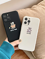 cheap -Case For Apple iPhone 12 / iPhone 11 / iPhone 12 Pro Max Pattern Back Cover Animal TPU