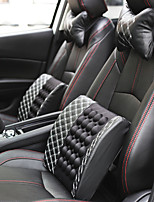 cheap -Car Electric Lumbar Support Back Cushion & Headrest Neck Pillow Kit for Seat Cushion Erognomic Fit for Back Pain Relief