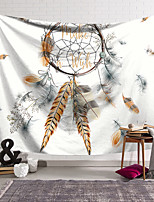cheap -Wall Tapestry Art Decor Blanket Curtain Hanging Home Bedroom Living Room Decoration Polyester Dream Catcher Pattern
