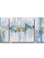 cheap -3 Panels Hand Painted Contemporary Art Oil Paintings on Canvas Modern Stretched and Framed Abstract Artwork Ready to Hang