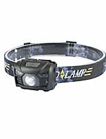 cheap -headlamp flashlight outdoor headlights for running with red light and brightest led, walking,reading,camping,rechargeable and waterproof(black)