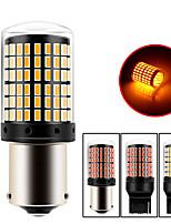 cheap -2 Pcs 3014 144SMD Canbus 1156 1157 7440 7443 LED Bulbs Turn Signal Light Tail Lights Brake Lights Canbus DC12-24V White Yellow Red Lights