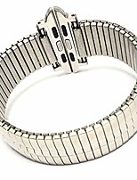 cheap -stainless steel metal expansion band for apple 38mm/40mm 42mm/44mm expansion wide stainless steel metal watch band metal watch band stainless steel classic expansion 6 5/8 to 12 inch length