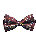 cheap -Men's Party / Work / Basic Bow Tie - Print