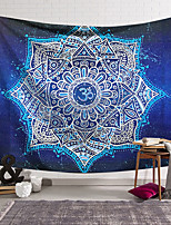 cheap -Mandala Bohemian Wall Tapestry Art Decor Blanket Curtain Hanging Home Bedroom Living Room Decoration Boho Indian Hippie Polyester Psychedelic Lotus Flower Pavilion
