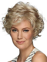 cheap -Synthetic Wig Curly Pixie Cut Wig Short Blonde Synthetic Hair Women's Soft Cool Blonde
