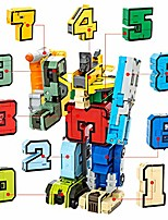 cheap -number alphabet transform robots toy digital deformation robot assembled building blocks numbers transform robots toy playset entry-level combinate to a big early learning robot gift for boy