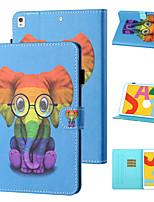 cheap -Case For Apple iPad mini 1/2/3  7.9'' / iPad mini 4 7.9'' / iPad mini 5 7.9'' Shockproof Full Body Cases Animal / Cartoon TPU