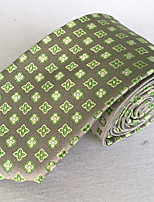 cheap -Men's Party / Work / Basic Necktie - Floral