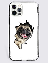 cheap -Lovely Dog Case For Apple iPhone 12 iPhone 11 iPhone 12 Pro Max Unique Design Protective Case Shockproof Back Cover TPU