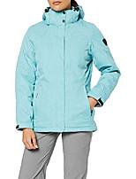 cheap -women's functional zala/dunkelnavy/jacket/winter jacket with zip-off hood, womens, 31131-000-00837-34, hell stahlblau, 34 (eu)