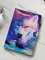 cheap -Case For Apple iPad Air 4 (2020) 10.9'' / iPad 7 (2019) 10.2'' / iPad Air 2 (2014) 9.7'' Shockproof Full Body Cases Animal PU Leather / TPU