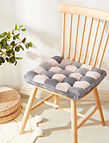cheap -Cation Velvet Super Soft Seat Cushion Home Office Thickened Chair Cushion Home Office Seat Bar Dining Chair Seat Pads Garden Floor Cushion