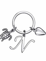 cheap -turtle charm keychains for women gifts, sea turtle keychains for women accessories(n)