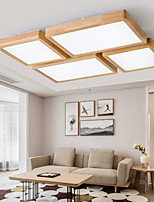 cheap -1/4-Light LED Ceiling Light Modern Basic Square Includes Dimmable Version Flush Mount Lights Painted Finishes Nordic Style 110-120V 220-240V