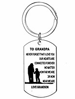 cheap -gifts for grandpa from granddaughter granson keychain gifts grandfather grandad keyring birthday gifts for grandpa father's day key chain for men jewelry