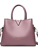 cheap -Women's Bags Top Handle Bag Zipper Handbags Date Office & Career Black Blue Purple Red