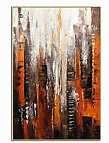 cheap -100% Hand-Painted Contemporary Art Oil Painting On Canvas Modern Paintings Home Interior Decor Abstract City Art Painting Large Canvas Art(Rolled Canvas without Frame)