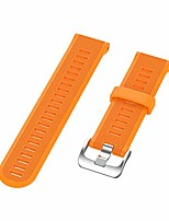 cheap -silicone smart watch strap quick release watch band compatible for garmin forerunner 945 935 (orange)