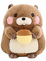 cheap -adorable kawaii fluffier groundhog doll woodchuck stuffed animal plush toy