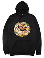 cheap -Inspired by Haikyuu Karasuno High Cosplay Costume Hoodie Polyester / Cotton Blend Graphic Prints Printing Hoodie For Men's / Women's