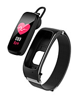 cheap -696 BY53 Unisex Smart Wristbands Bluetooth Heart Rate Monitor Blood Pressure Measurement Calories Burned Information Blood Oxygen Monitor Call Reminder Activity Tracker Sleep Tracker Find My Device
