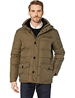 cheap -men's hooded down parka, juniper, large