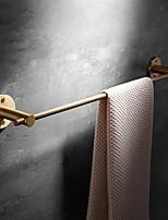 cheap -Towel Bar Bathroom Brass Solid Towel Hanging Rod Bathroom Shelf Pure Copper Towel Rack