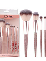cheap -Makeup Brushes Set 5pcs Travel Makeup brush Powder Foundation Eye Shadow Blending Brushes With Gift Package