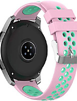 cheap -watch strap compatible with garmin vivoactive 4s (40mm) / legacy saga rey (40mm) / legacy hero captain marvel (40mm) bands (18mm, pink teal)
