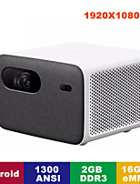 cheap -Xiaomi-mijia 2 Pro Smart Laser Tv Projector 1300 Ansi Hd 1080p Full Hd Resolution 2gb  16gb Emmcai Voice Remote Control