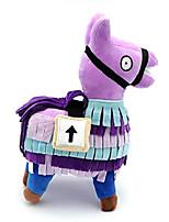 cheap -cute kawaii 15cm soft llama plush toy soft stash alpaca toys stuffed toy animal plush dolls children birthday chirstmas gift zhaozb (color : purple)