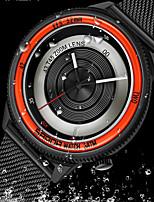 cheap -SANDA Men's Steel Band Watches Quartz Modern Style Minimalist Water Resistant / Waterproof Analog Red+Silver Black / Orange Black / One Year / Stainless Steel / Japanese