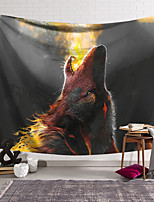 cheap -Wall Tapestry Art Decor Blanket Curtain Hanging Home Bedroom Living Room Decoration Wolf