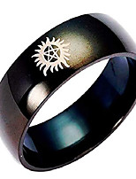 cheap -supernatural anti-possession symbol black metal band ring (9)