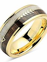 cheap -tungsten ring for men women wedding band elk deer antler koa wood inlaid engagement size 6-16 (custom text engraving, 13)