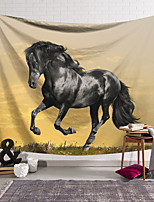 cheap -Wall Tapestry Art Decor Blanket Curtain Hanging Home Bedroom Living Room Decoration Horse Galloping Pattern