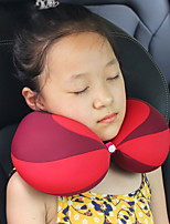 cheap -Air Cushion Car Headrest U Shape Newbron Travel Portable Head Support Infant Baby Sleeping Home Neck Pillow Gift For Kids