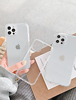 cheap -Case For Apple iPhone 12 / iPhone 11 / iPhone 12 Pro Max Shockproof Back Cover Transparent TPU