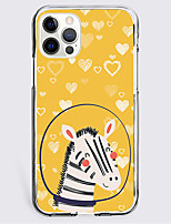 cheap -Animal Case For Apple iPhone 12 iPhone 11 iPhone 12 Pro Max Unique Design Protective Case Shockproof Back Cover TPU