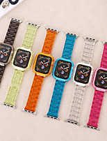 cheap -Watch Band for Apple Watch Series 6 / SE / 5/4 44mm / Apple Watch Series 6 / SE / 5/4 40mm / Apple Watch Series 3/2/1 38mm Apple Sport Band PC Wrist Strap