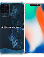 cheap -Case For Apple iPhone 12 / iPhone 11 / iPhone 12 Pro Max Shockproof Back Cover Animal TPU