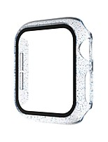 cheap -Cases For Apple Watch Series 6 / SE / 5/4 44mm / Apple Watch Series 6 / SE / 5/4 40mm / Apple Watch Series 3/2/1 38mm 42mm  Plastic Compatibility Apple