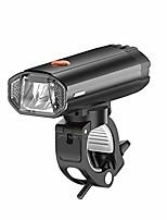 cheap -bike lights set, 600 lumens, bike light, mountain bike lamp, front and back, led headlights, rechargeable via usb (color: 3000 mah, size: free)