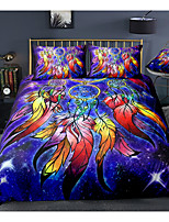 cheap -Boho Style Dreamcatcher 3-Piece Duvet Cover Set Hotel Bedding Sets Comforter Cover with Soft Lightweight Microfiber For Room Decoration(Include 1 Duvet Cover and 1or 2 Pillowcases)