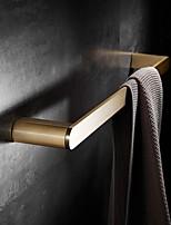 cheap -Towel Bar Brushed Brass Gold Towel Bar Wall-mounted Bathroom Single Rod