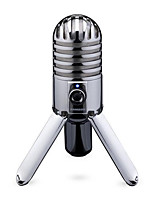 cheap -Samson Meteor-Studio Recording Condenser Microphone Original Foldable Back Leg Microphone with USB Cable Computer Carry Bag