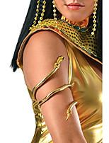 cheap -women's snake arm cuff, multi, one size