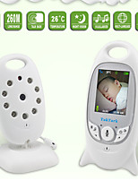 cheap -Wireless Video Baby Monitor 2.0 inch Color Security Camera 2 Way Talk NightVision IR LED Temperature Monitoring with 8 Lullaby