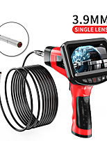 cheap -3.9 mm endoscope high definition camera 4.3 inch one-piece hand-held screen for industrial pipe electronic air conditioning for sewer channel hard wire 5m with 32G TF card
